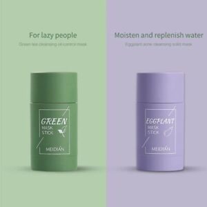 Green Tea Purifying Clay Stick Mask Anti-Acne Deep cleansing Oil Control Skin