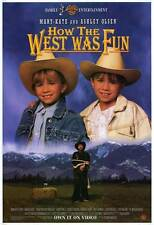 HOW THE WEST WAS FUN Movie POSTER 27x40 Mary-Kate Olsen Ashley Olsen Martin Mull