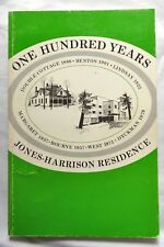 Jones-Harrison Residence Centennial history book - Cedar Lake Minneapolis