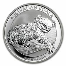 2012  AUSTRALIAN KOALA SILVER COIN, 1 Oz.999% Purity, Brilliant Uncirculated C#3