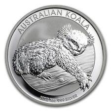 2012  AUSTRALIAN KOALA SILVER COIN, 1 Oz.999% Purity, Brilliant Uncirculated C#3