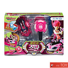Power Battle Watch Car Ultra Sona Coin-Battle Ari Pink Watchcar Young Toys