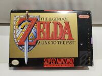 The Legend of Zelda: A Link to the Past (Super Nintendo) SNES CIB w/ Top Secrets