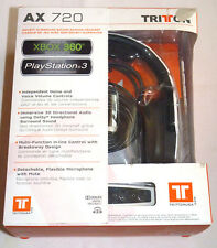 TRITTON AX 720 GAMING STEREO HEADSET PLAYSTATION 4 3 PC PS4 XBOX 360 weiß AX720