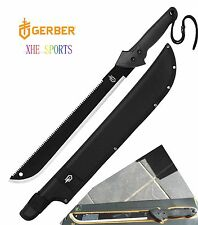 Authorized Gerber Hunting Camping Senior Gator Machete Knife 31-000758 + Sheath