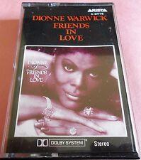 Dionne Warwick Friends In Love Cassette Made in Australia C37776