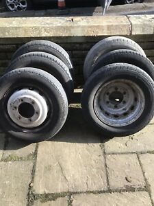 Transit Mk7 Double/ Tipper/ Twin Wheels X6
