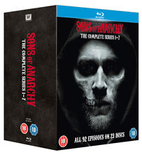 Sons of Anarchy Seasons 1 to 7 Complete Collection Blu-ray UK BLURAY