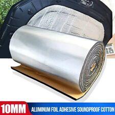 Adhesive Sound Deadening Mat Heat Shield Deadener Engine Insulation Muffler 10mm