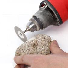 60mm Diamond Cutting Disc & Mandrel for  Rotary Grinder Blade Mini Drill