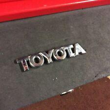 Genuine TOYOTA BADGE Emblem For YARIS 2001-2005 TS T2 VVTi GLS T Sport