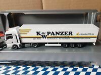 herpa MAN TGX XXL-- KW PANZER Transporte GmbH 47877 Willich---aus Modell 930703