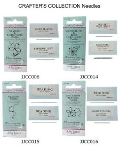 Beading Needles John James Crafter's Collection