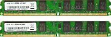 KIT RAM 4GB (2X 2GB) DDR2 PC2-5300 667MHz 667 DESKTOP MEMORIA PC2-5300U 240PIN
