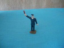 76 I JOUEF FRANCE 690 FIGURINE PLASTIC SNCF THE CHIEF OF STATION HO 1/87