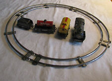 Haji Japan Tin Train Set with Track including 2315 Engine and Sante Fe Car