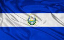 EL SALVADOR FLAG NEW 3X5 ft SOCCER 90x150cm satin type material