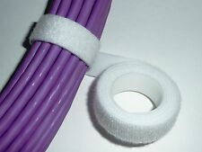 Bracelet Velcro Cable Tie Velcro 20 mm x 25 m Blanc * Authentique Velcro *
