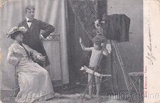 * FOTOGRAFIA - Bambino Cupido fotografa una coppia 1905