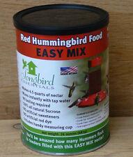 Songbird Essentials 48 oz Instant Mix Red Hummingbird Nectar Makes 4.5 quarts