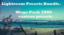 Lightroom Presets Bundle.Pack 7000  presets