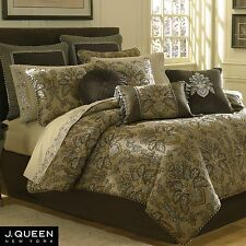 "J. Queen New York TOSCA Brown EURO SHAM 26"" X 26""~ MSRP $60! NIP!"
