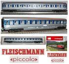 FLEISCHMANN 8184 VINTAGE CARROZZA con LETTI di 2a Classe DB LUCI e BOX SCALA-N