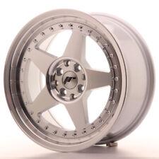Japan Racing JR6 Alloy Wheel 17x8 - 4x114.3 / 4x100 - ET35 - Machined Silver