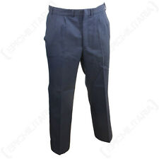 German Blue Service Trousers - Army Surplus Post WW2 Pants Navy Uniform Sizes