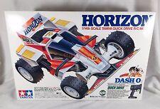 New RC 1990 TAMIYA HORIZON 1/14 Quick Drive QD Vintage Radio Dash HILUX Yonkuro