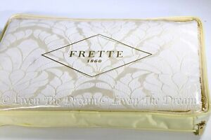 NEW Frette LUXINSIGNEA Queen Duvet Cover 54% Cotton 46% Silk Made in Italy