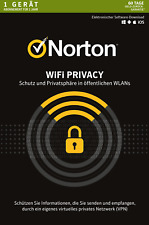 NORTON WiFi Privacy - 1-Gerät / 1-Jahr - Security VPN - PC / Mac / Android / KEY
