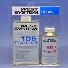 WEST SYSTEM Epoxy Harz A-Pack 105-205A Standard FAST Härter Set/1,2kg Epoxyharz