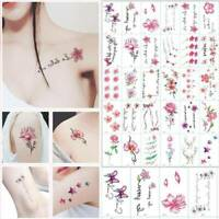 Waterproof Womens Mens Tattoo Temporary Tattoos Sticker Fake Tatoo Body Art