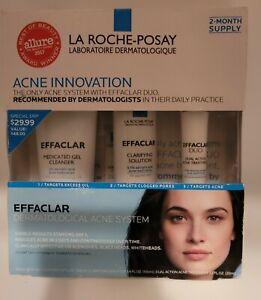 La Roche-Posay Effaclar Dermatological Acne System - 3 Piece  Exp 01/23