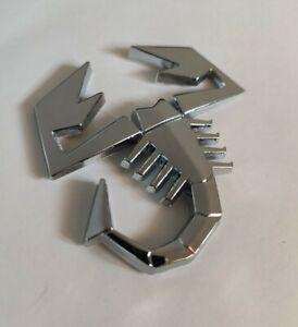 Chrom Silber 3D Metall Skorpion Abzeichen Emblem Für Honda Jazz Civic Hrv Accord