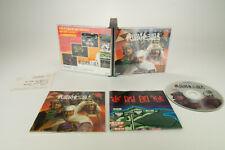 PC Engine *Sengoku Kantou Sangokushi* OVP Anleitung Reg Card Super CD-ROM NTSC-J