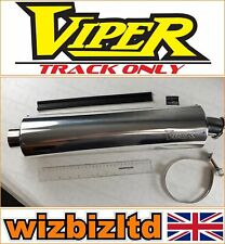 Suzuki SV650S 1999-2016 [Viper Track Only Exhaust End Can] [Alloy Round] EXC101