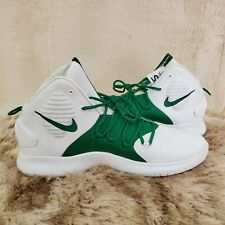 Nike Zoom Hyperdunk X Mens Size 17 White Green Basketball Shoes AT3866-104 NEW