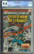 MARVEL TEAM-UP #50 CGC 9.4 WHITE PAGES