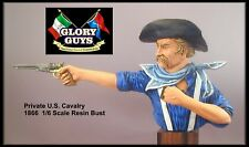 1/9 Scale Resin Bust Pvt. Martin Quincannon 1868 US Cavalry