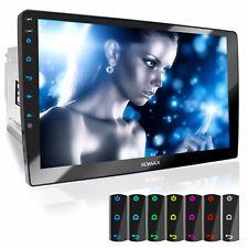 Autoradio mit 10 Zoll Touch Monitor Usb Bluetooth Mp3 Mpeg-4 Wma 2DIN Schwenkbar