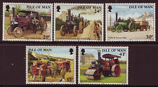 ISLE OF MAN 1995 TRACTION ENGINES UNMOUNTED MINT, MNH