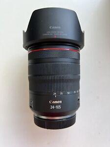 LIKE NEW Canon RF 24–105mm F4 L IS USM Camera Lens