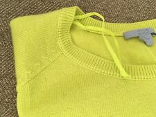 COS Chartreuse Soft Sweater Dress Size M.