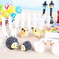 58pcs Fairy Garden Dollhouse Miniature Ornament Kit With AU Bag HOT Storage D3D9