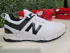 Men's New Balance Fresh Foam Links SL Spikeless Golf Shoes White/Black Size 12