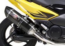 Yoshimura R77 Full Exhaust, Carbon Fiber Muffler  1390002 YAMAHA TMAX500 08-09