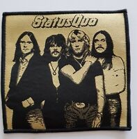 Status Quo Figures woven Patch