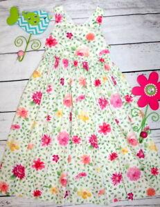 kELLY'S KIDS🌷Adorable Long Sundress Floral Dress 🌷Girl Size 6